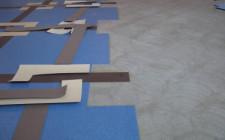 Укладка коврового покрытия на пол