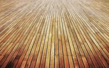 5 минут, и деревянный пол не скрипит