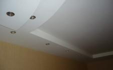Отделочные работы: бесшовные натяжные потолки
