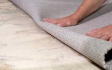 Как при ремонте стелить ковролин?