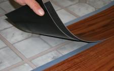 Укладка виниловой плитки на пол