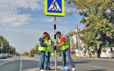 Как установлены знаки дорожного движения?