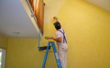 Как подготовить и выполнять покраску стен?