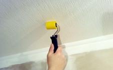 Какое покрытие можно использовать для потолка?