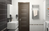 Виды дверей для ванных и их описание