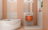 Выбор плитки  для маленькой ванной комнаты