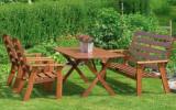 Виды и материалы изготовления садовой мебели