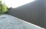 Забор из профнастила – эстетичная и надежная защита вашего дома и участка