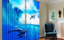 Фотошторы – функциональное украшение интерьера комнаты