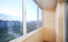 Установка на балконе и лоджии теплого остекления