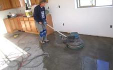 Работа с бетонным полом: устройство, шлифовка и покраска