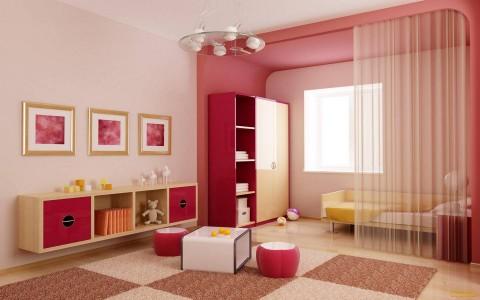 гостинная в светло розовом цвете