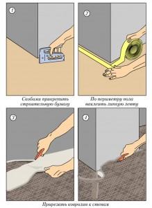 Монтаж полов: от строительства до коврового покрытия