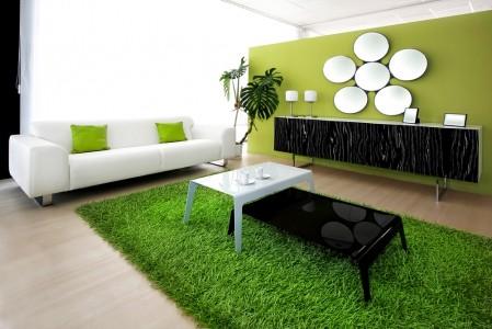 зелёный ковер под траву