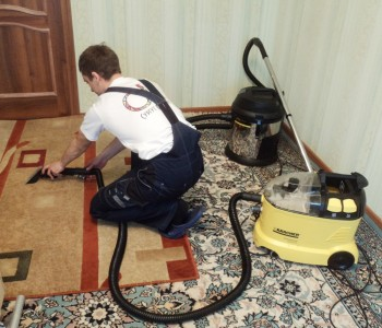 Химчистка ковров на дому от Росклининг