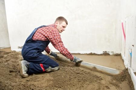 цементно-песочная стяжка