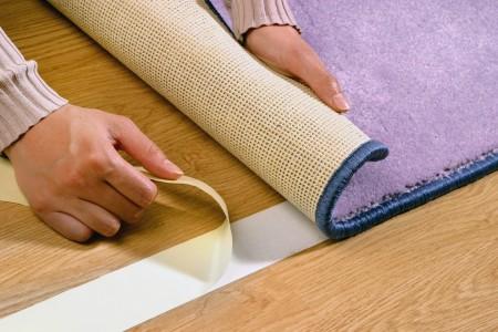 Укладка коврового покрытия на скотч