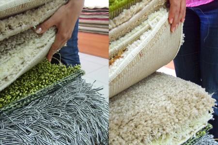 виды ковров в стопках