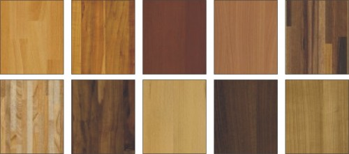 ламинат разных цветов