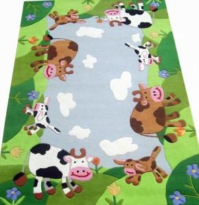детский ковёр с коровками