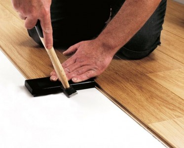 выравнивание ламината при укладке
