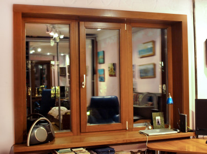 Деревянные окна: современная классика