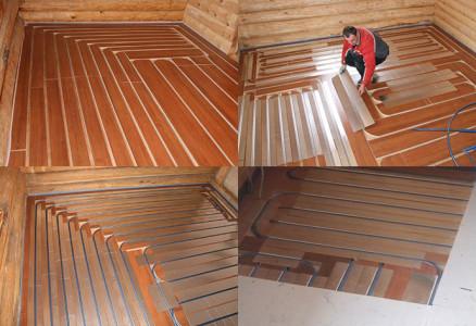 Теплый пол и деревянные полы